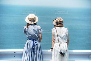 海を眺めての写真・画像素材[1784779]