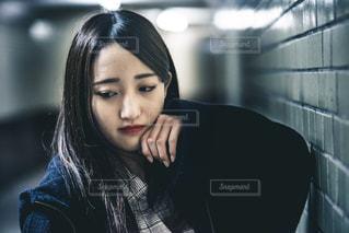 地下道ポートレートの写真・画像素材[2014437]