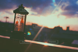ランタンの灯火との写真・画像素材[1694549]