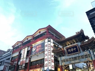 横浜中華街の写真・画像素材[1498499]