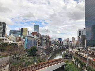 神田川、聖橋からの眺めの写真・画像素材[1576000]