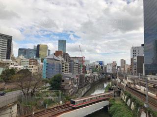 神田川、聖橋からの眺めの写真・画像素材[1576001]