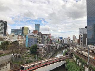 神田川、聖橋からの眺めの写真・画像素材[1576002]