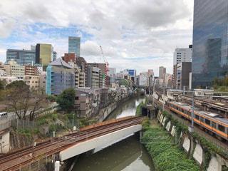 神田川、聖橋からの眺めの写真・画像素材[1576016]