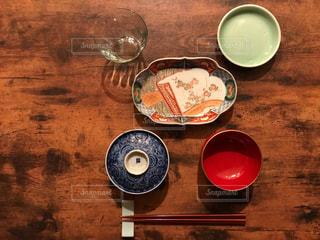 アンティークの食器の写真・画像素材[1577008]