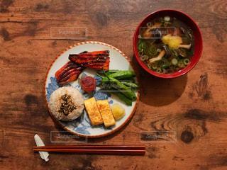 和食、一汁三菜。の写真・画像素材[1608351]