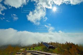 雲の上からおはようの写真・画像素材[1592184]