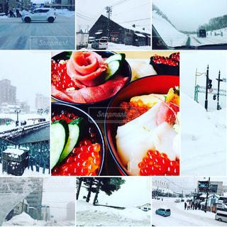 小樽の冬の写真・画像素材[1660530]