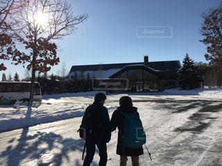 北海道の冬の写真・画像素材[1660531]