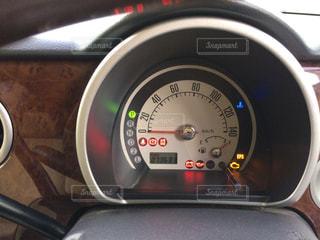 車のメーターの写真・画像素材[1557922]