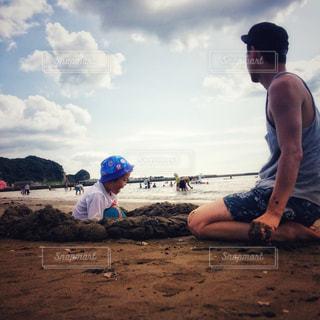 夏の海遊びの写真・画像素材[2144083]