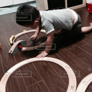 電車遊びの写真・画像素材[2258053]