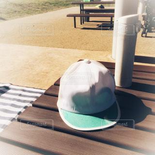 公園で休憩中の写真・画像素材[2695088]