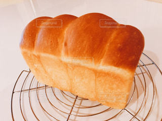 手作り焼き立て山形食パンの写真・画像素材[1512479]