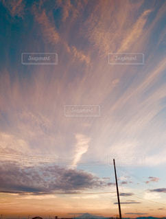 夏の終わりの空の写真・画像素材[1502721]