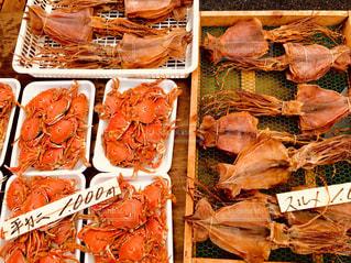 市場の海鮮の写真・画像素材[1521824]
