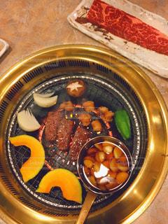 焼き肉中の写真・画像素材[1684108]