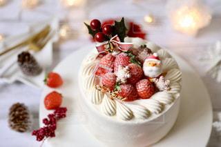 クリスマスケーキの写真・画像素材[1718665]