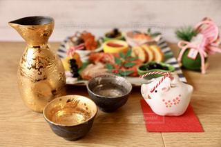 日本酒で1杯の写真・画像素材[1718669]