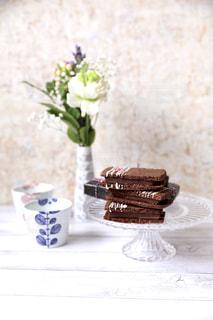 バレンタインの生チョコサンドクッキーの写真・画像素材[1827744]