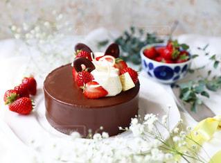 バースデーケーキの写真・画像素材[1827749]