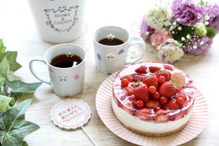 母の日のケーキの写真・画像素材[2120541]
