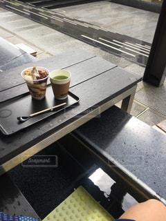 足湯カフェの写真・画像素材[1512904]