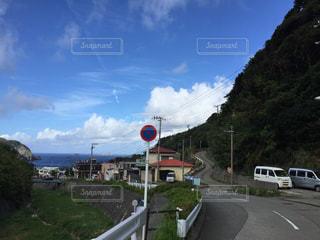 島の坂の写真・画像素材[1527454]