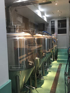 クラフトビール醸造施設の写真・画像素材[1579152]