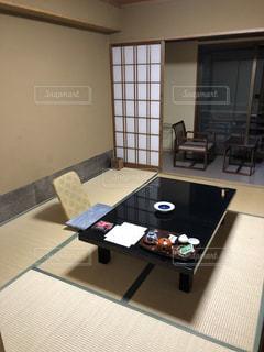 温泉宿のお部屋の写真・画像素材[1667609]