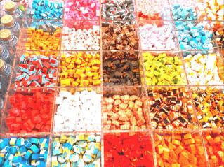 カラフルなお菓子の写真・画像素材[1523171]