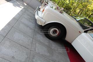 駐車場に駐車の写真・画像素材[1507737]