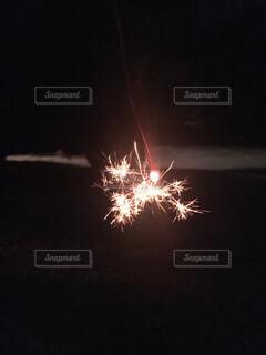 夜空の花火の写真・画像素材[1522789]