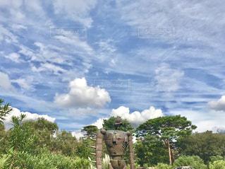 ロボット兵と空の感じがいい…の写真・画像素材[1559358]