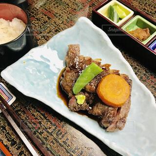 上州牛のステーキの写真・画像素材[1635835]