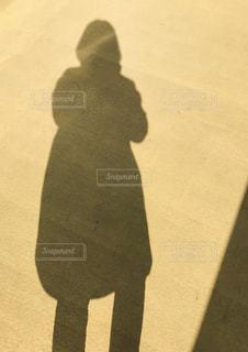 女性の影の写真・画像素材[2362748]