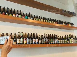 ビール瓶がずらり🍺の写真・画像素材[2362849]