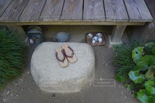 サツキとメイの家 草履の写真・画像素材[2448301]
