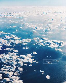 飛行機からの眺めの写真・画像素材[1677060]
