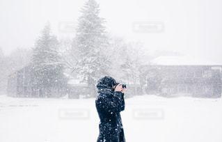 雪景色の写真・画像素材[1751177]