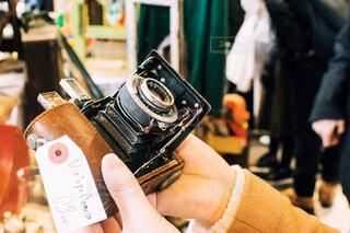 古いフィルムカメラの写真・画像素材[1788614]