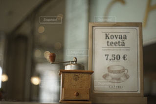 コーヒーカウンターの写真・画像素材[1790326]