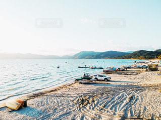 砂浜の写真の写真・画像素材[1790333]