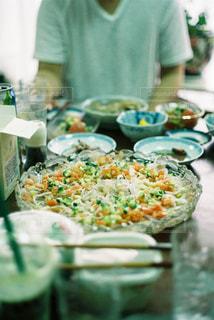 食卓の写真・画像素材[1805082]