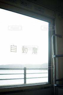 バスの窓からの眺めの写真・画像素材[1859622]