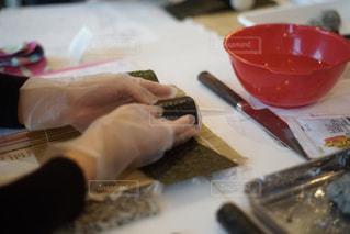 飾り巻き寿司の教室の写真・画像素材[1864321]