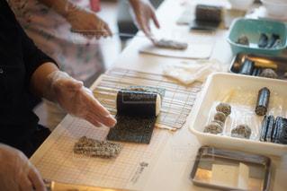 飾り巻き寿司の教室の写真・画像素材[1864323]