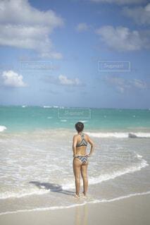 ハワイの海の写真・画像素材[2072529]