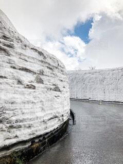 雪の回廊の写真・画像素材[2131790]
