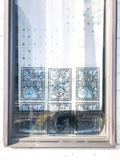 ステンドグラスの窓の写真・画像素材[2375161]